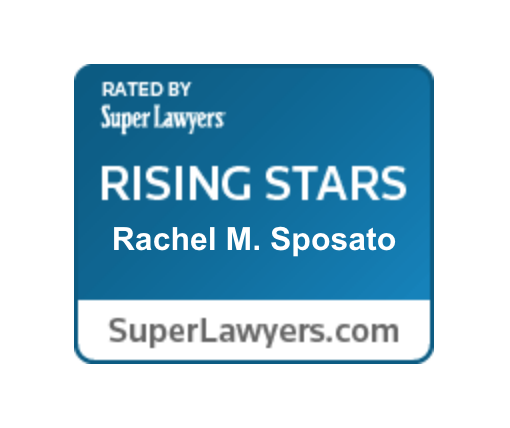 Rated by Super Lawyers - Rising Stars, Rachel Sposato - SuperLawyers.com